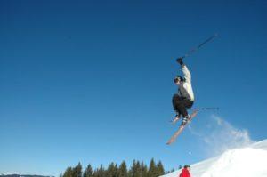 narciarz - zdjęcie na płótnie