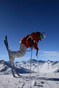 zdjęcie narciarza do druku